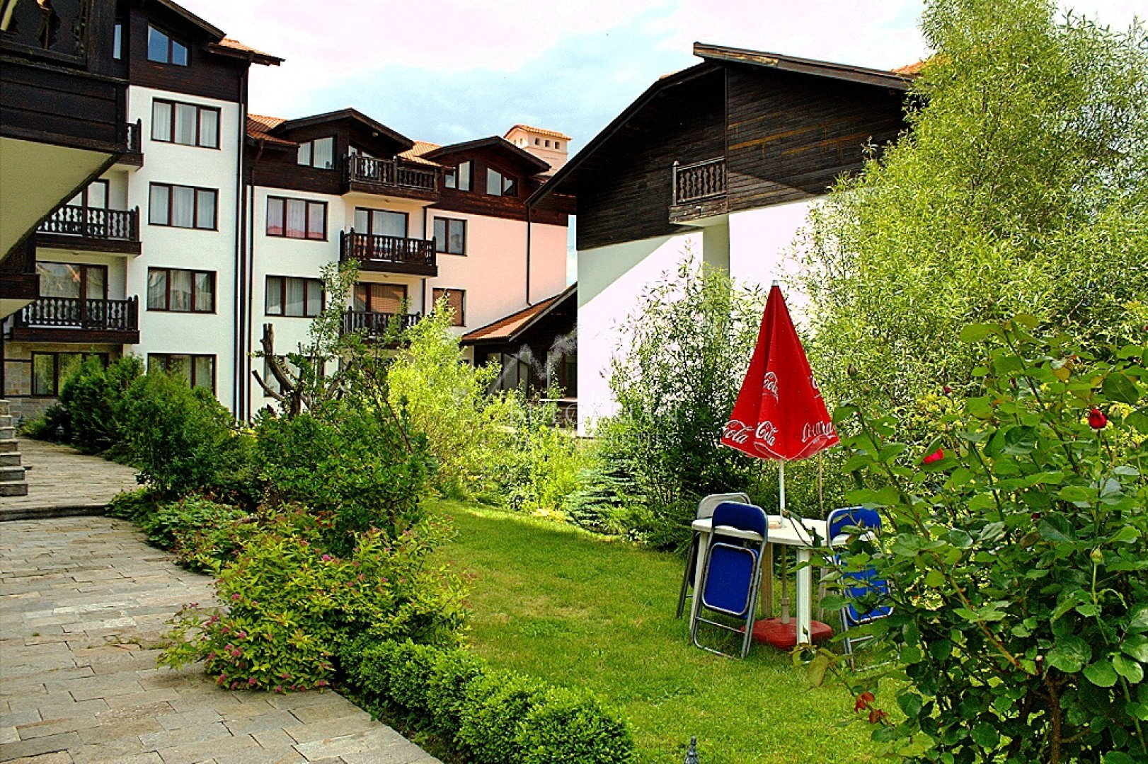Bansko, Balkan Heights: furnished two-bedroom apartment for sale