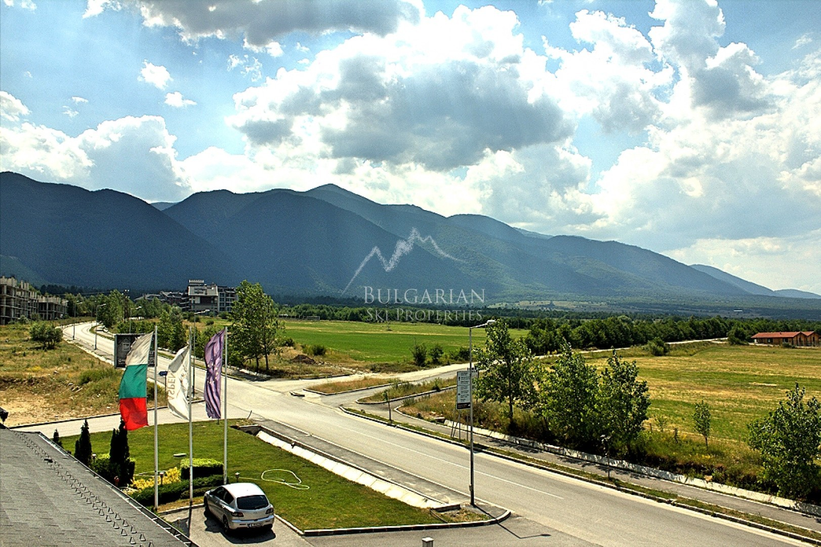 Aspen Golf, Bansko: furnished studio with mountain view for sale