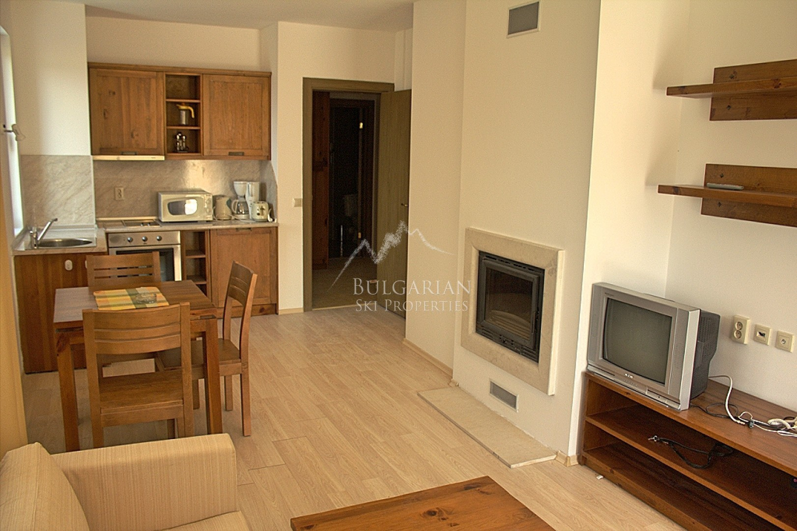 Bansko: furnished one-bedroom apartment for sale in St. John Hill