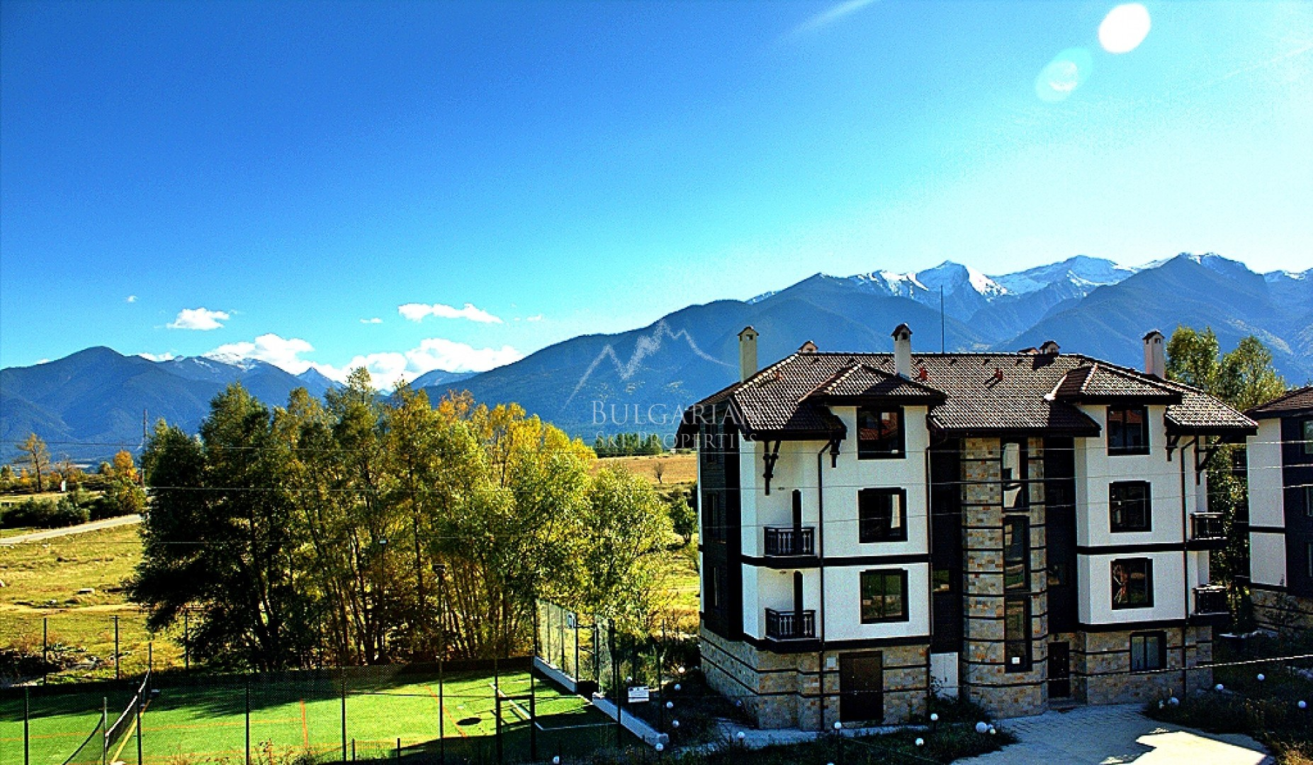 Panoramic one-bedroom apartment for sale in 3 Mountains, Bansko
