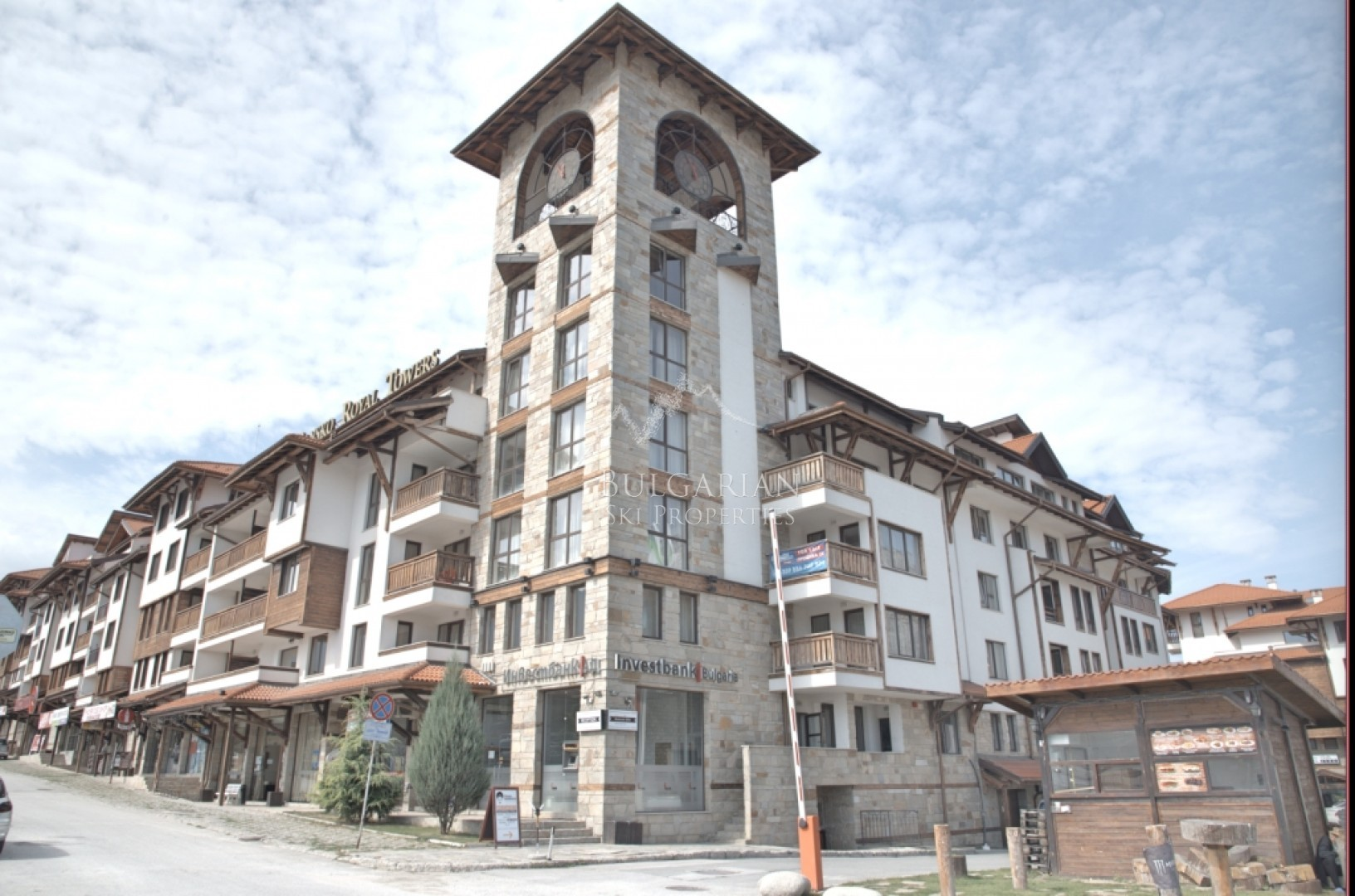 Bansko: furnished studio in Bansko Royal Towers complex