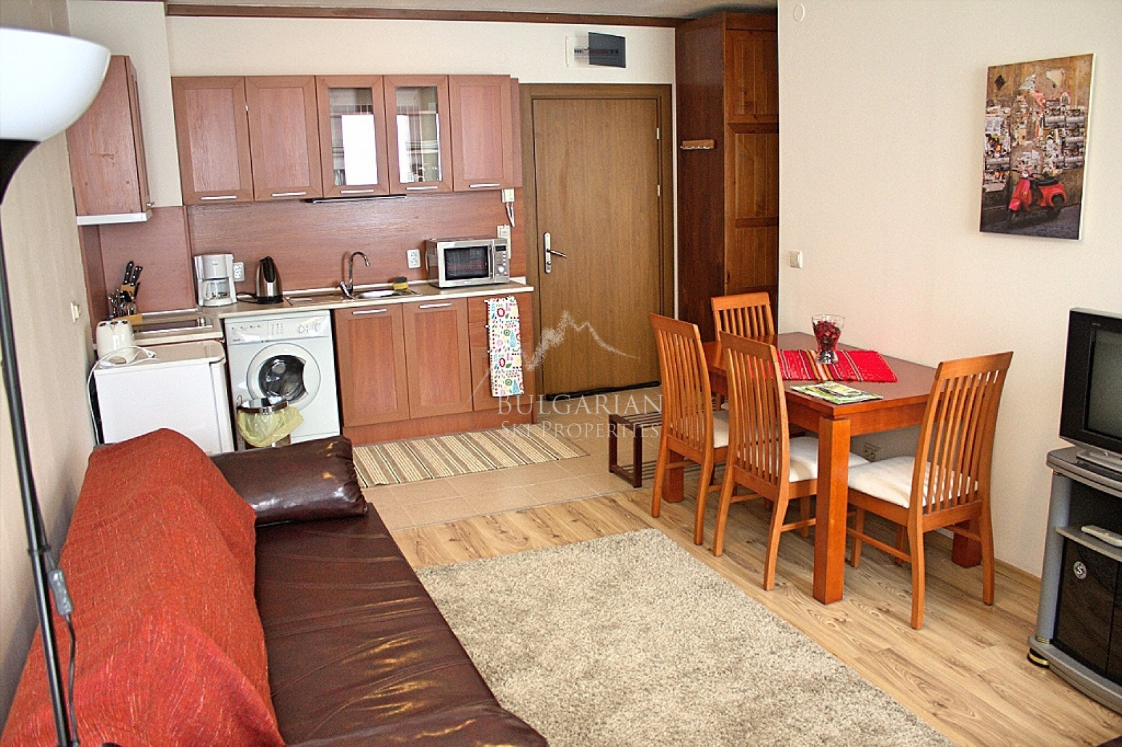 Cosy furnished apartment for sale in St. Ivan Ski & Spa, Bansko