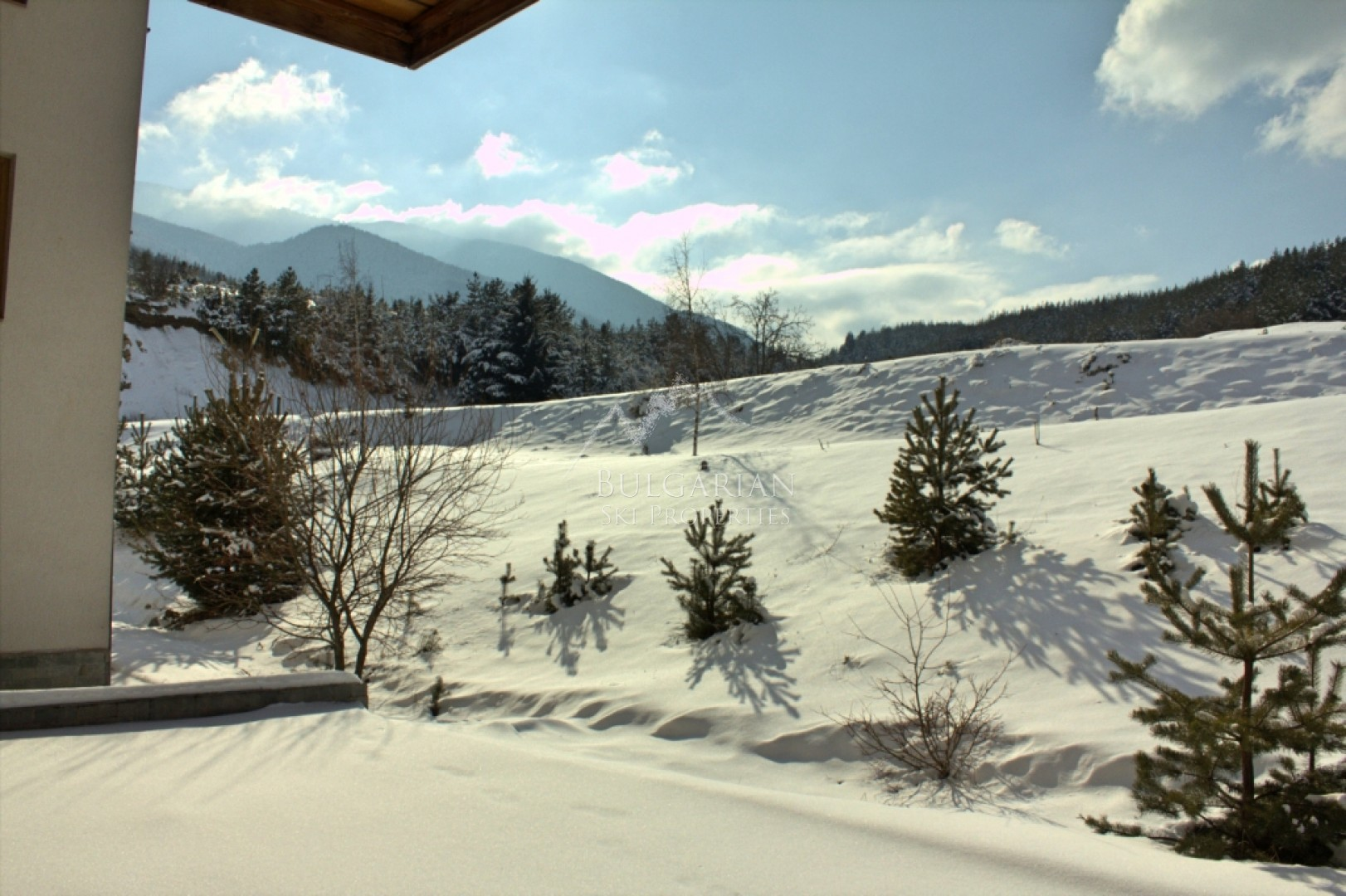 Bansko, St. John Hill: furnished one bedroom apartment with fireplace for sale