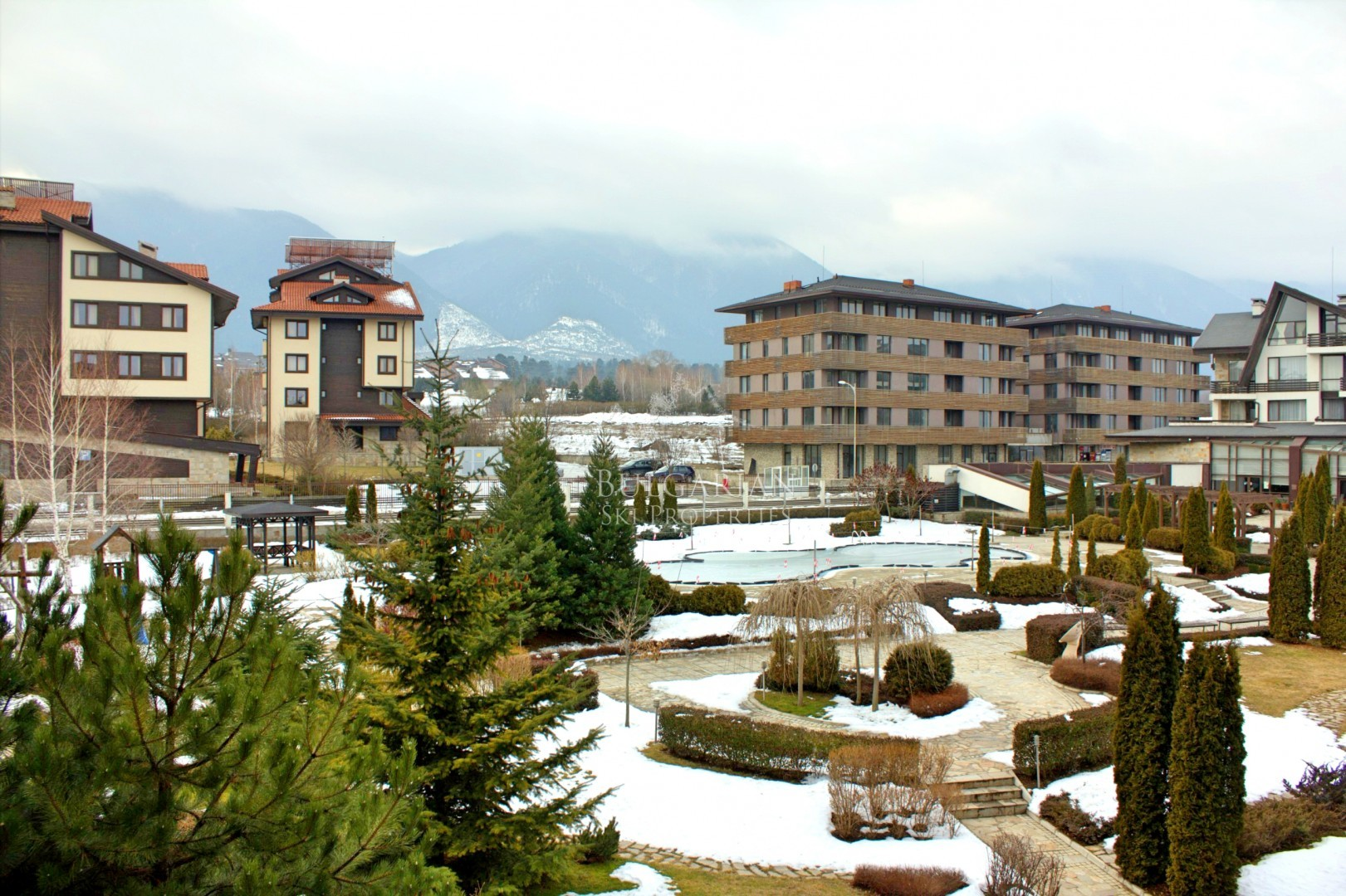 Aspen Golf, Bansko: panoramic one-bedroom apartment for sale