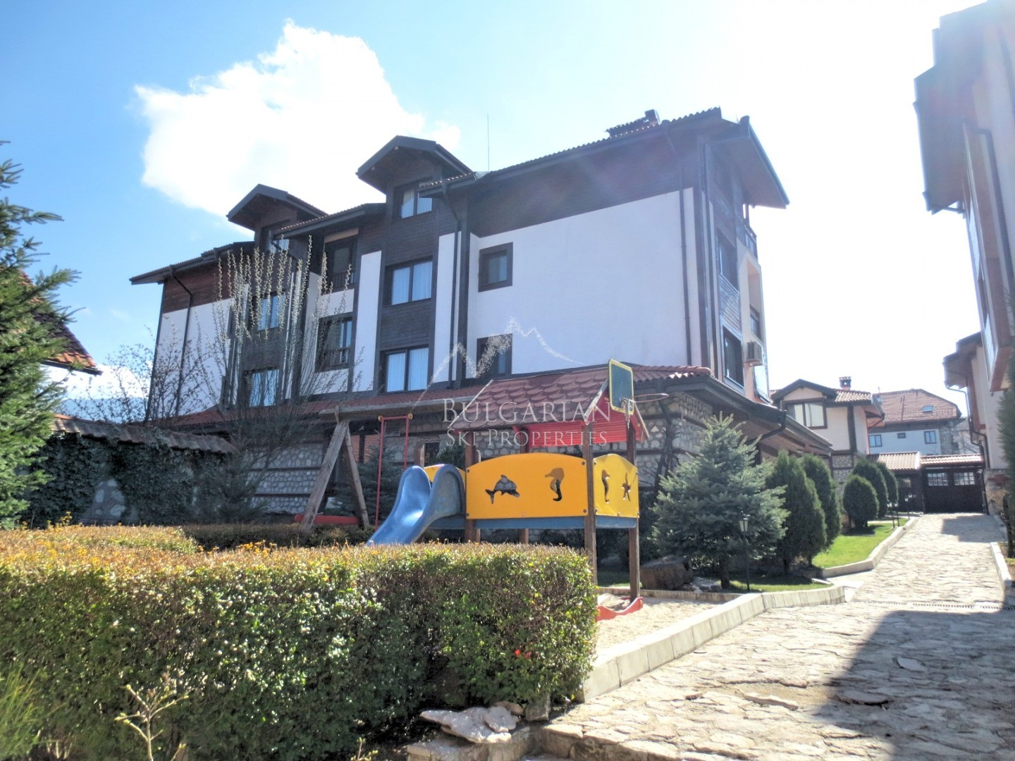Bansko: one bedroom apartment with fireplace in Winslow Atrium