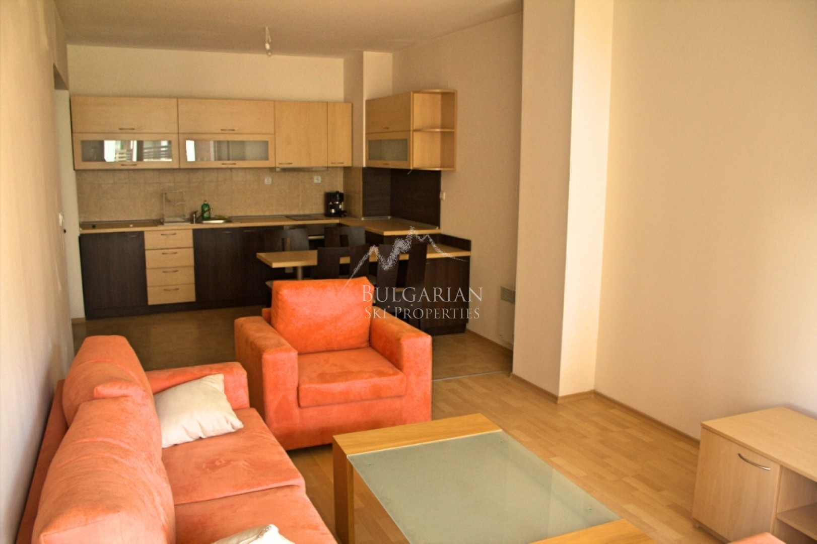 Bansko: spacious one bedroom apartment for sale