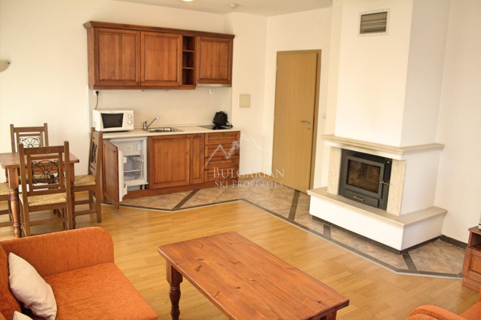 Уютен двустаен апартамент за продажба в Уинслоу Елеганс, Банско