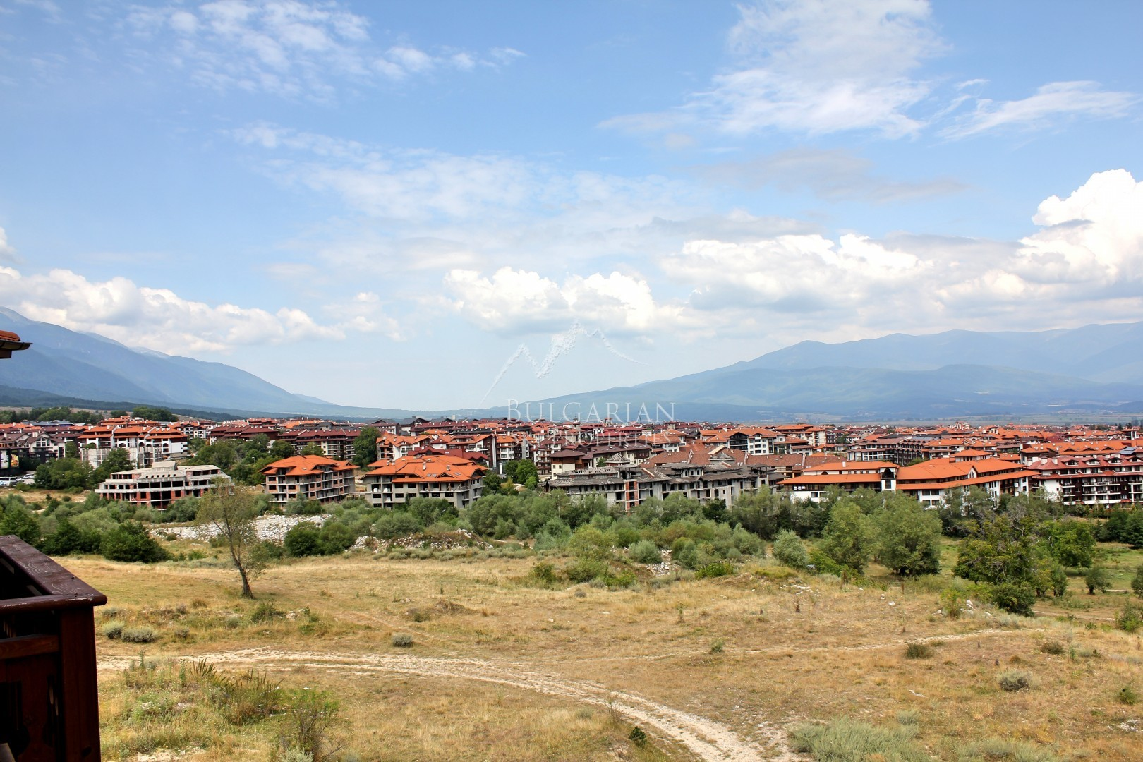 Bansko, Panaroma Resort: furnished studio with mountain view for sale