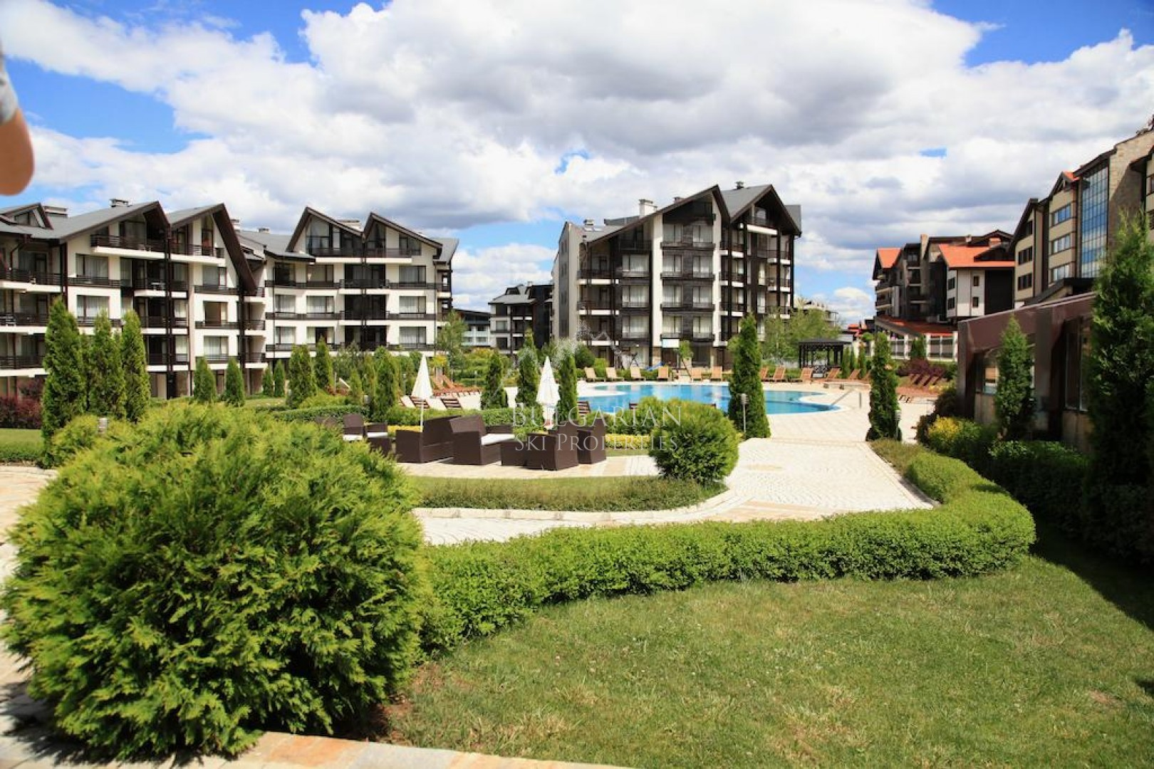 Compact studio for sale in Aspen Golf, Bansko
