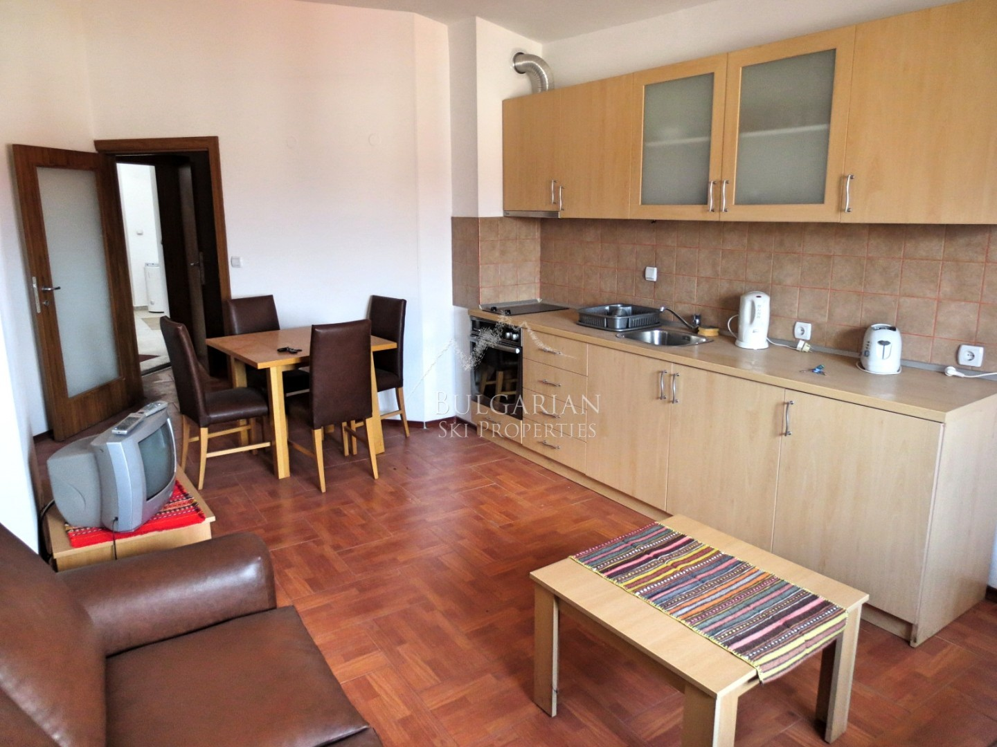 Two-bedroom apartment for sale in Bansko without maintenance fee