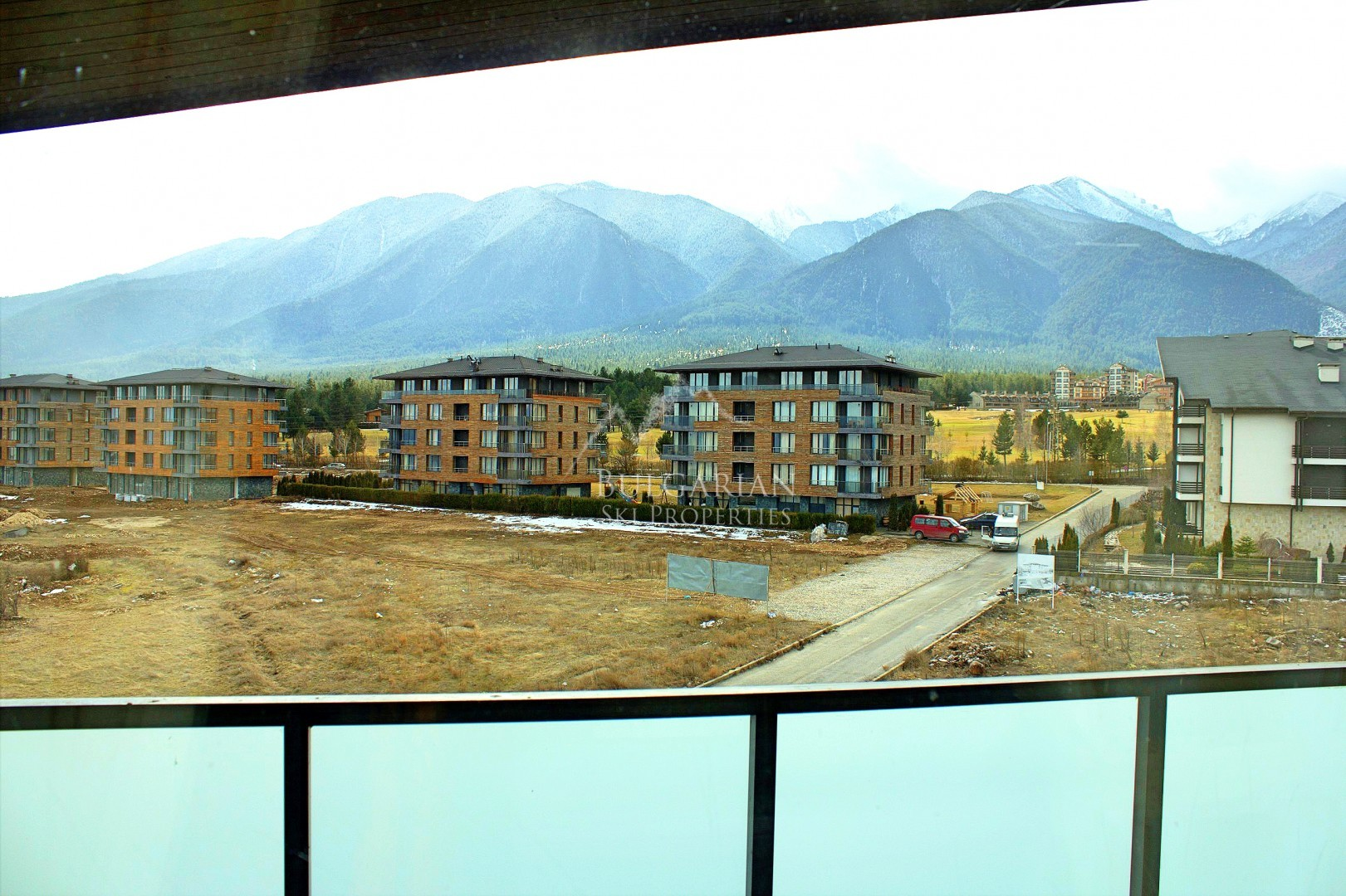 Aspen Heights, Bansko: Furnished studio with mountain view for sale