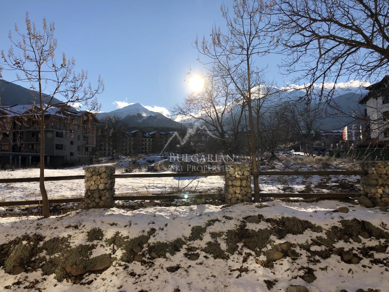 Комплекс Преспа, Банско: тристаен апартамент с планинска гледка за продажба