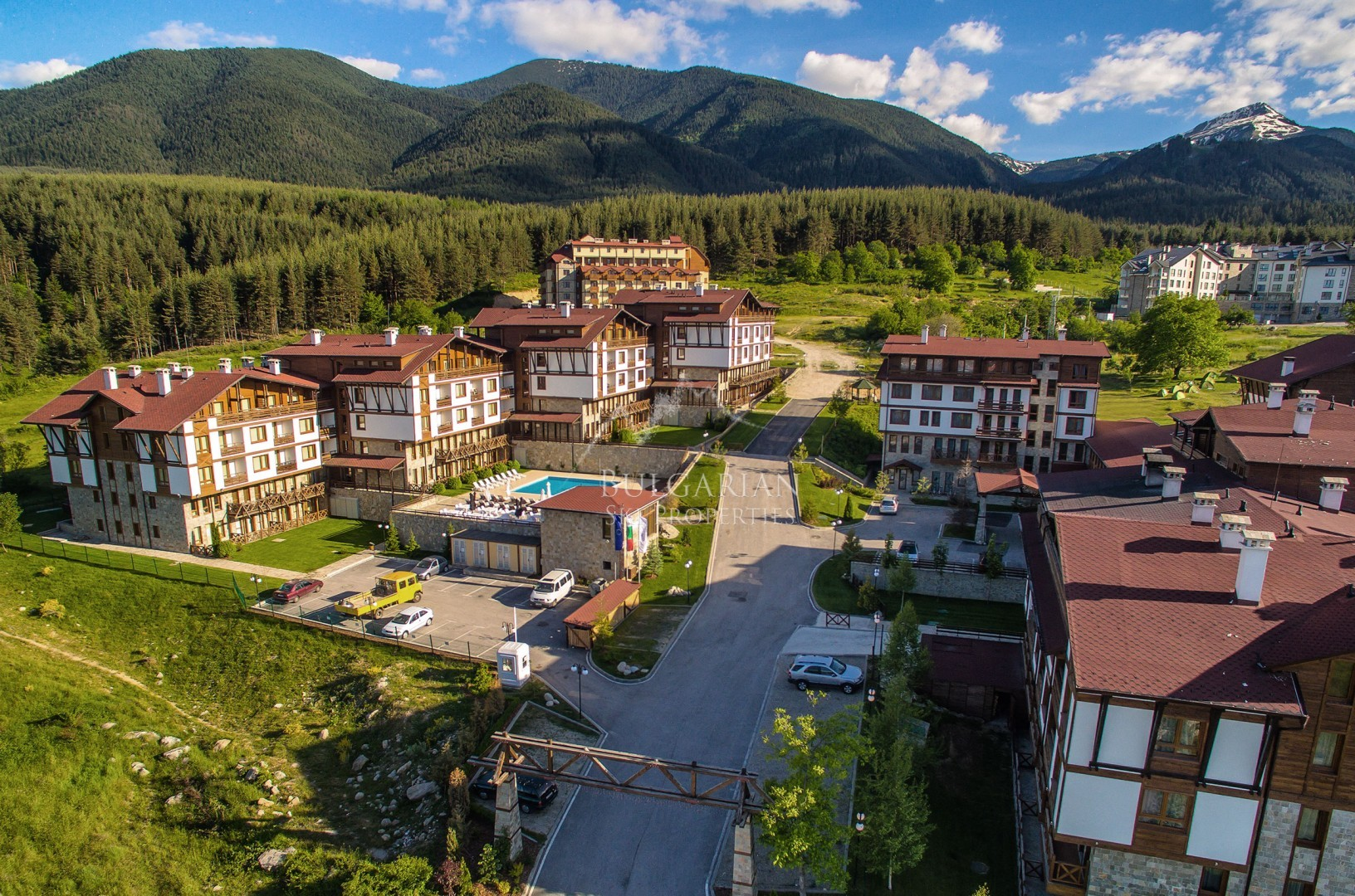 Bansko: furnished studio for sale in Green Life Ski & Spa Resort