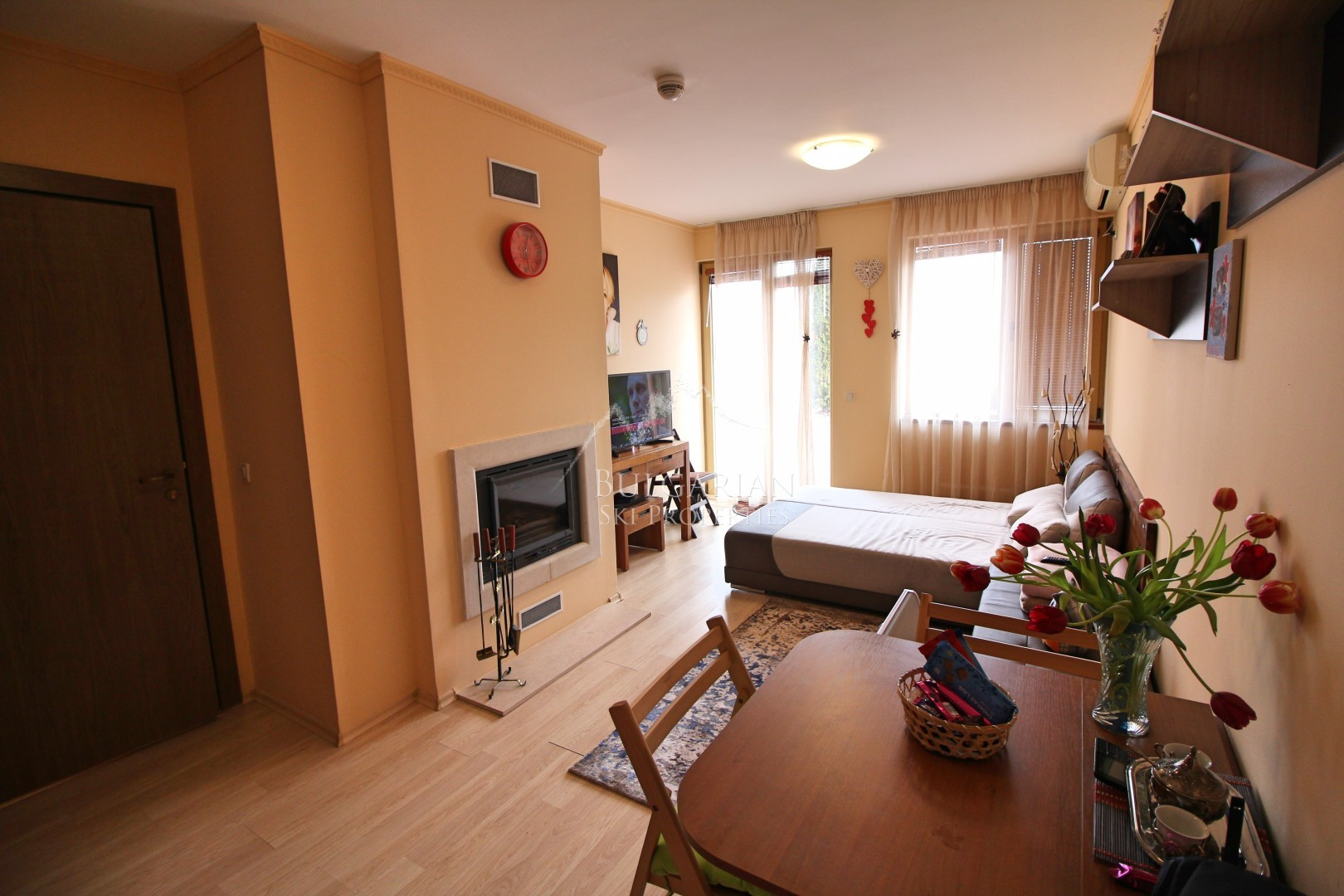 Bansko, St. John Hill: Cozy furnished studio for sale