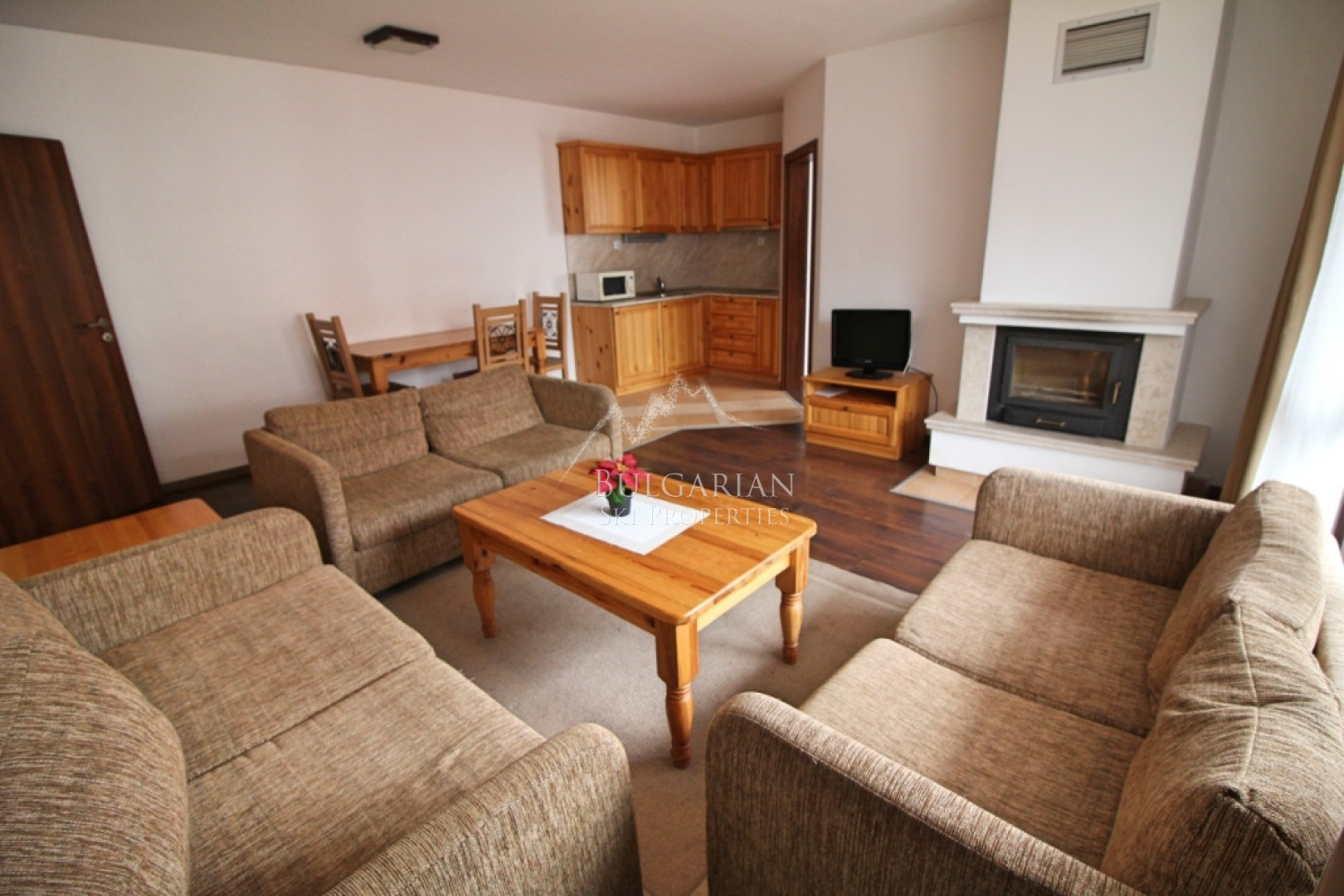 Bansko: spacious three bedroom apartment for sale in Winslow Infinity & SPA
