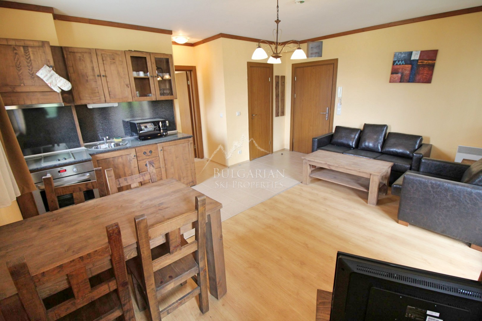 Bansko, St Ivan Ski & Spa: lovely one-bedroom apartment for sale