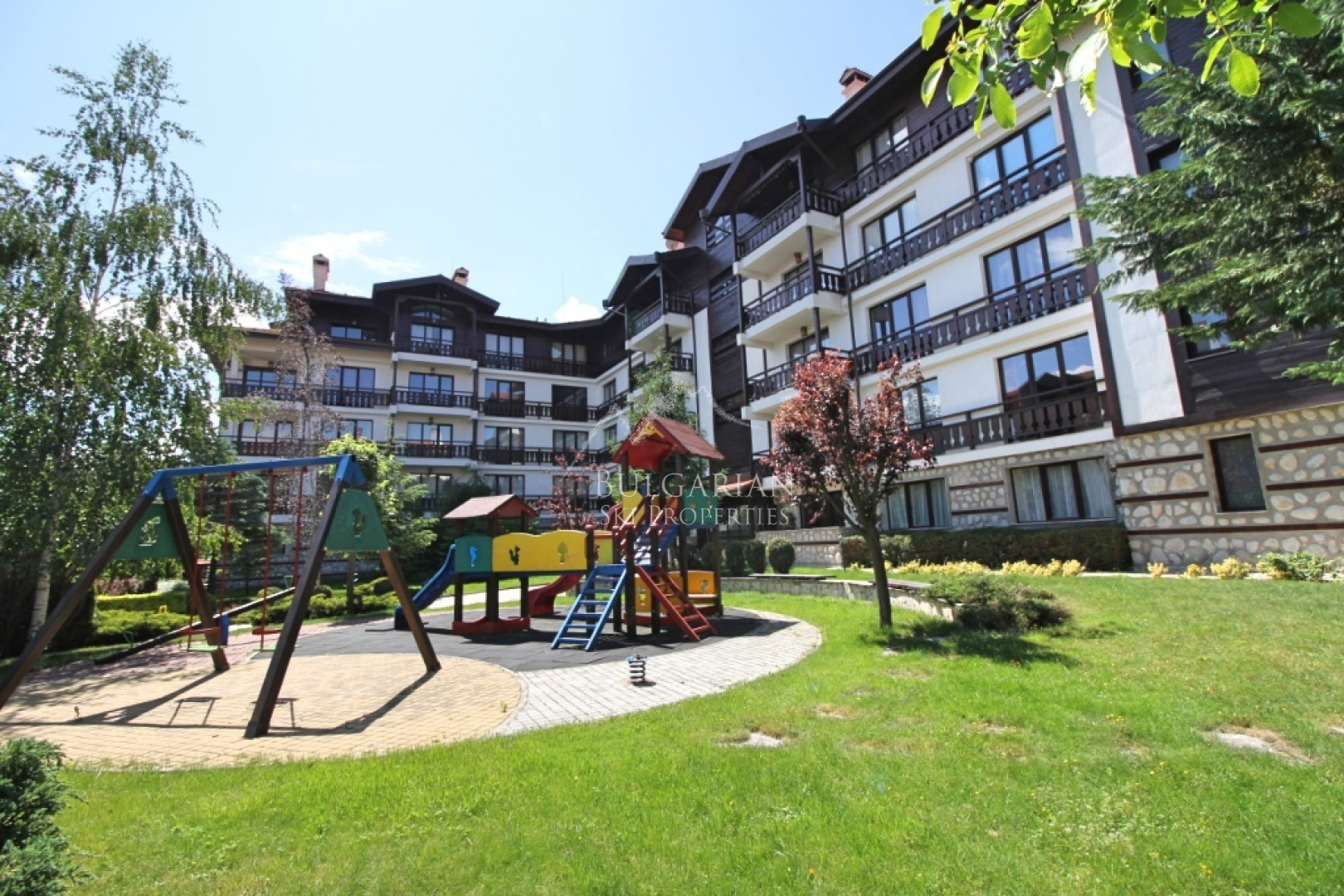Bansko, Winslow Infinity: one bedroom apartment with mountain views for sale