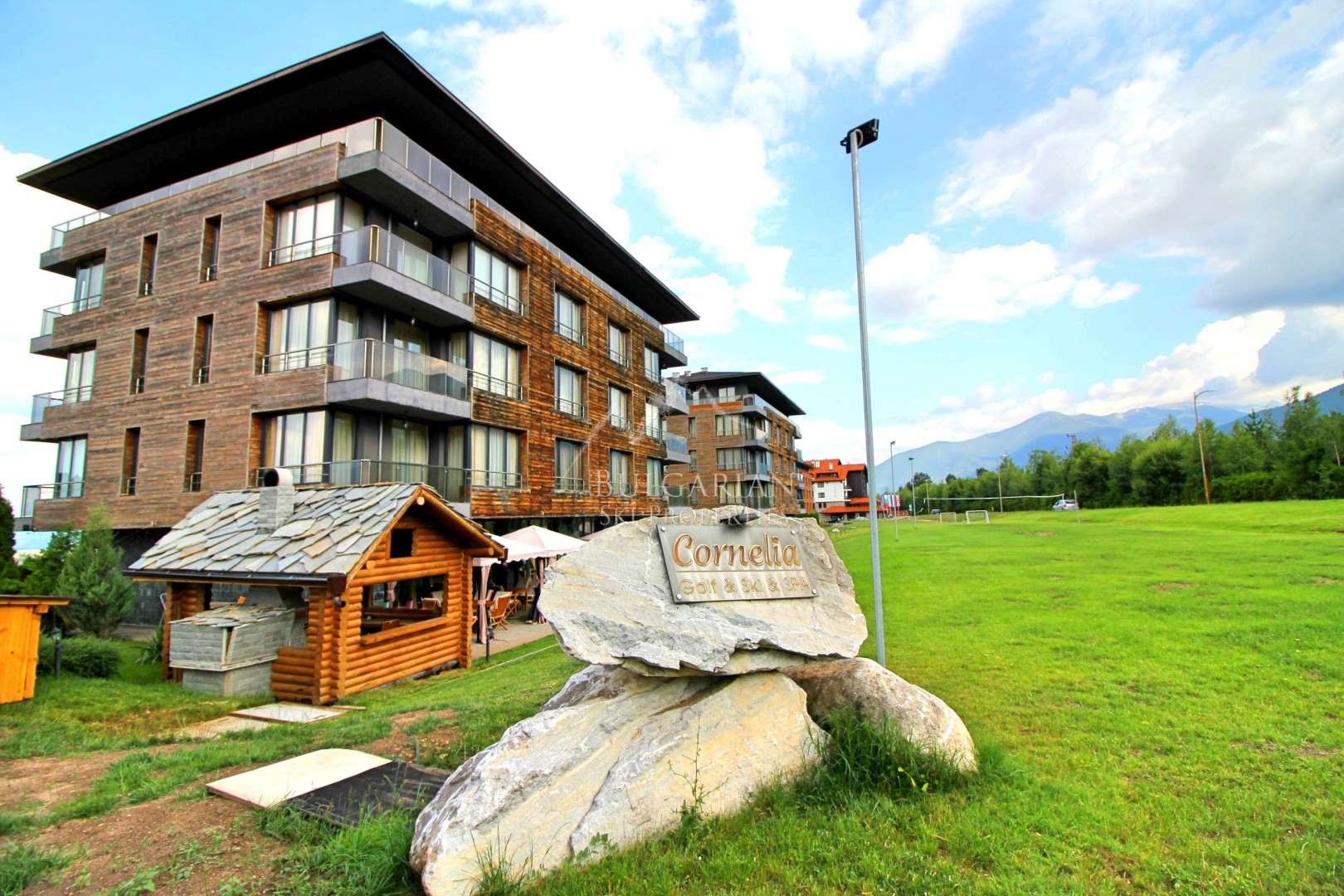 Furnished one-bedroom apartment for sale in Cornelia, Bansko