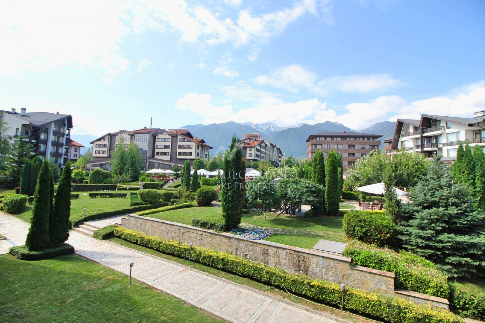 Aspen Golf, Bansko: furnished one-bedroom apartment for sale