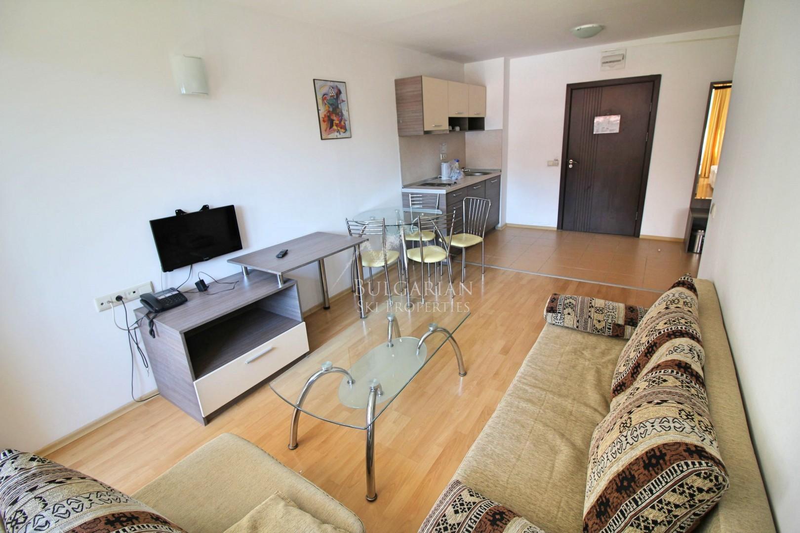 Маунтин Парадайс: южен апартамент за продажба в близост до ски лифта в Банско