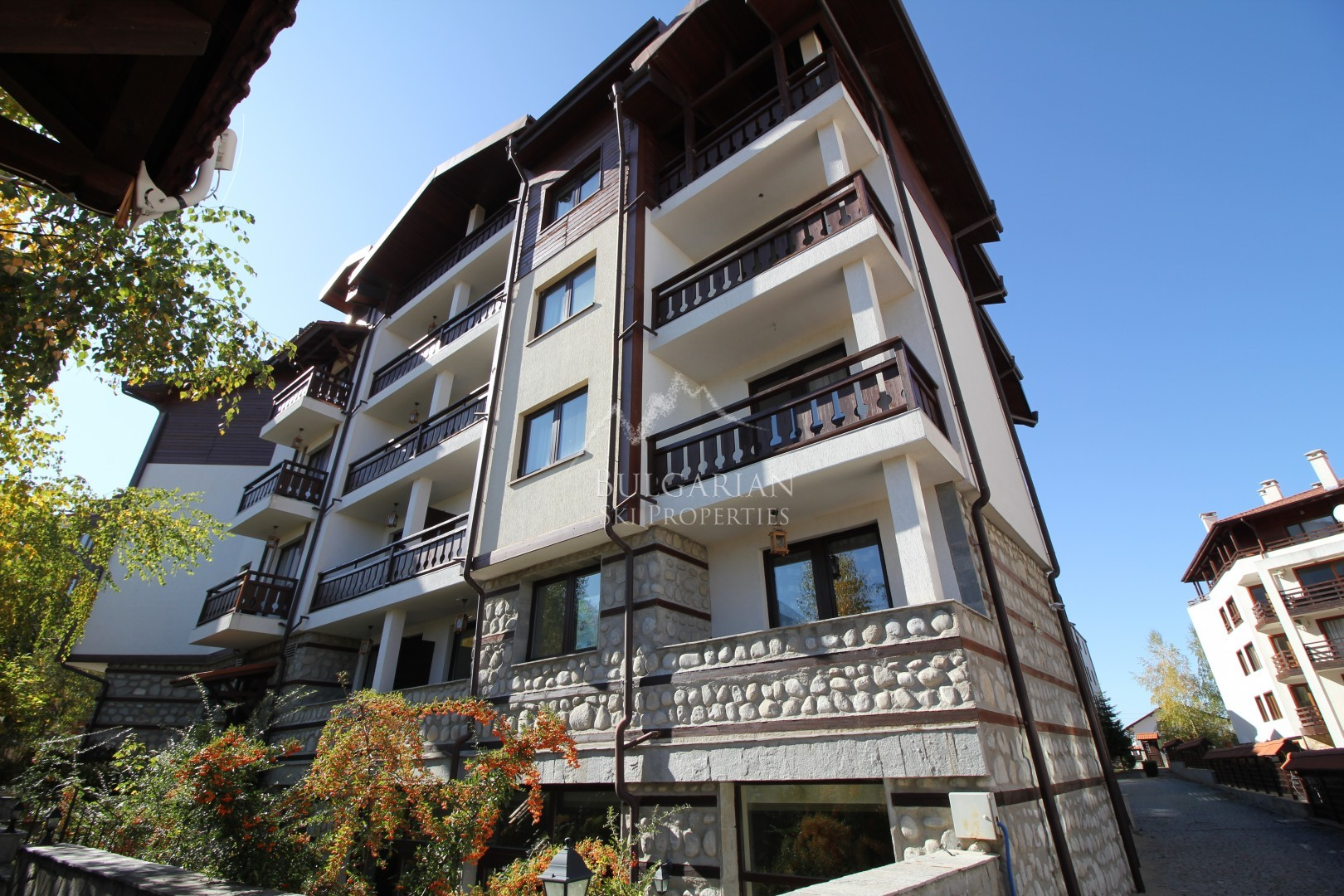 Bansko: furnished one bedroom apartment in Winslow Highland Complex