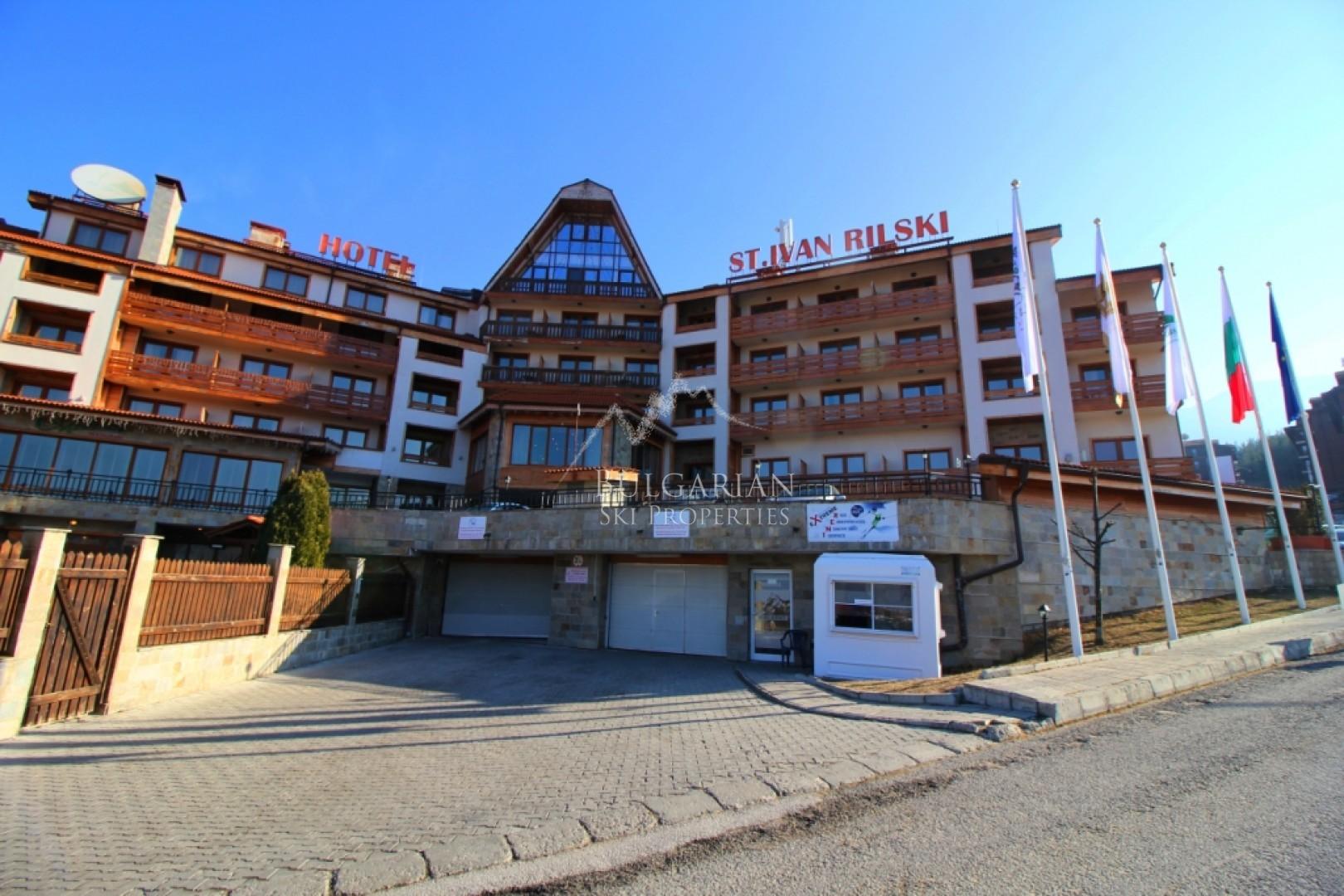 Комплекс Свети Иван Рилски, Банско: обзаведен двустаен апартамент за продажба