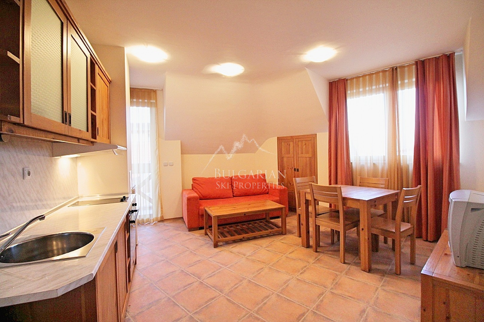 Bansko, Murphys Lodge: furnished one-bedroom apartment for sale