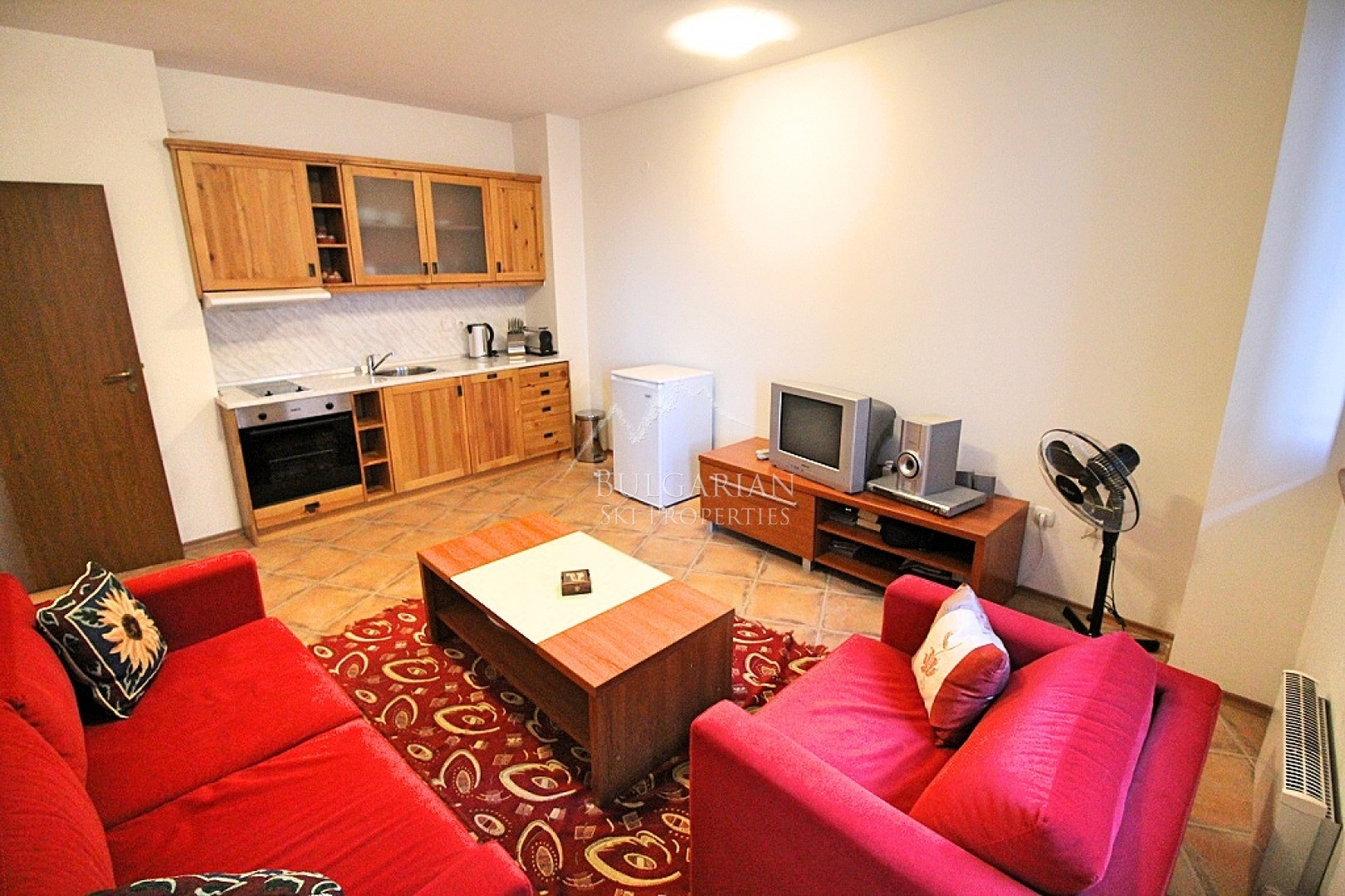 Мърфис Лодж, Банско: двустаен апартамент с ниска такса поддръжка за продажба