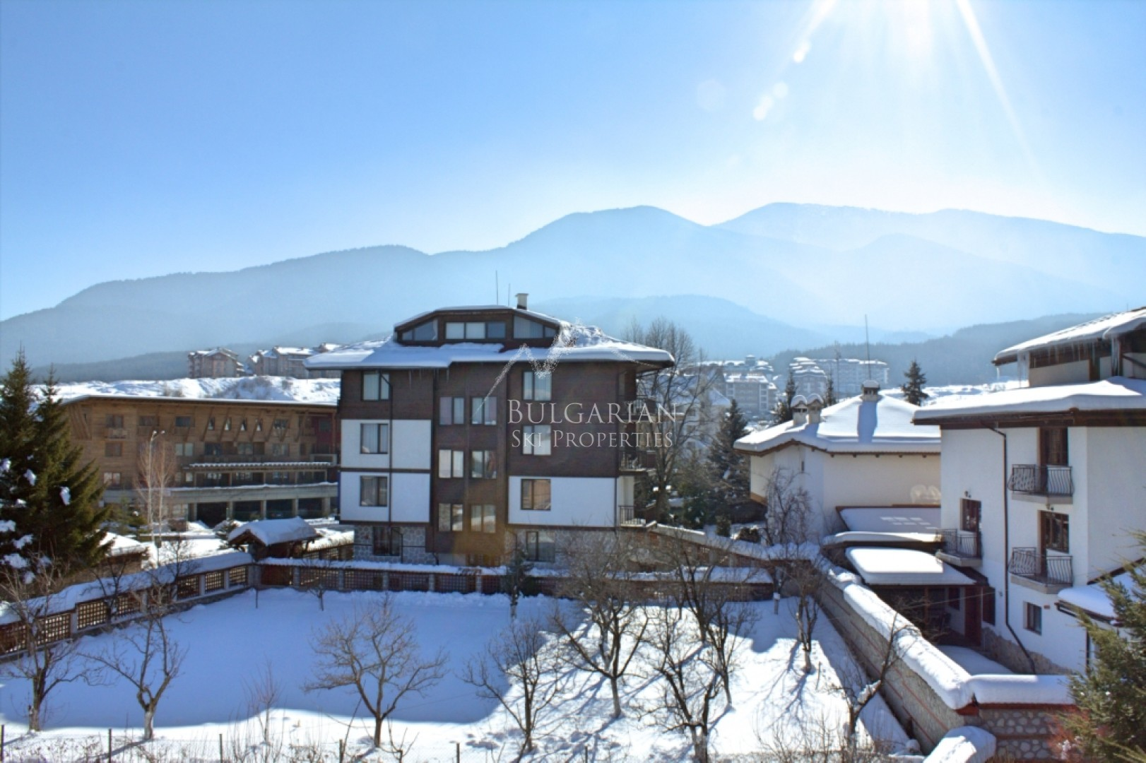 Bansko: comfortably furnished one-bedroom apartment for sale in Winslow Elegance