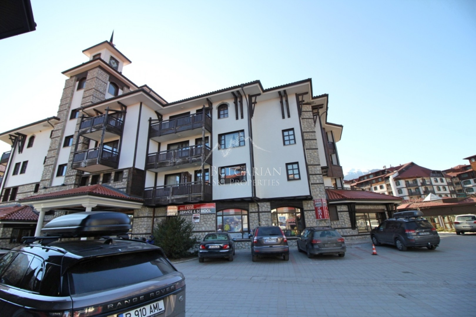 Bansko: one-bedroom apartment for sale in 4 * Asterа complex
