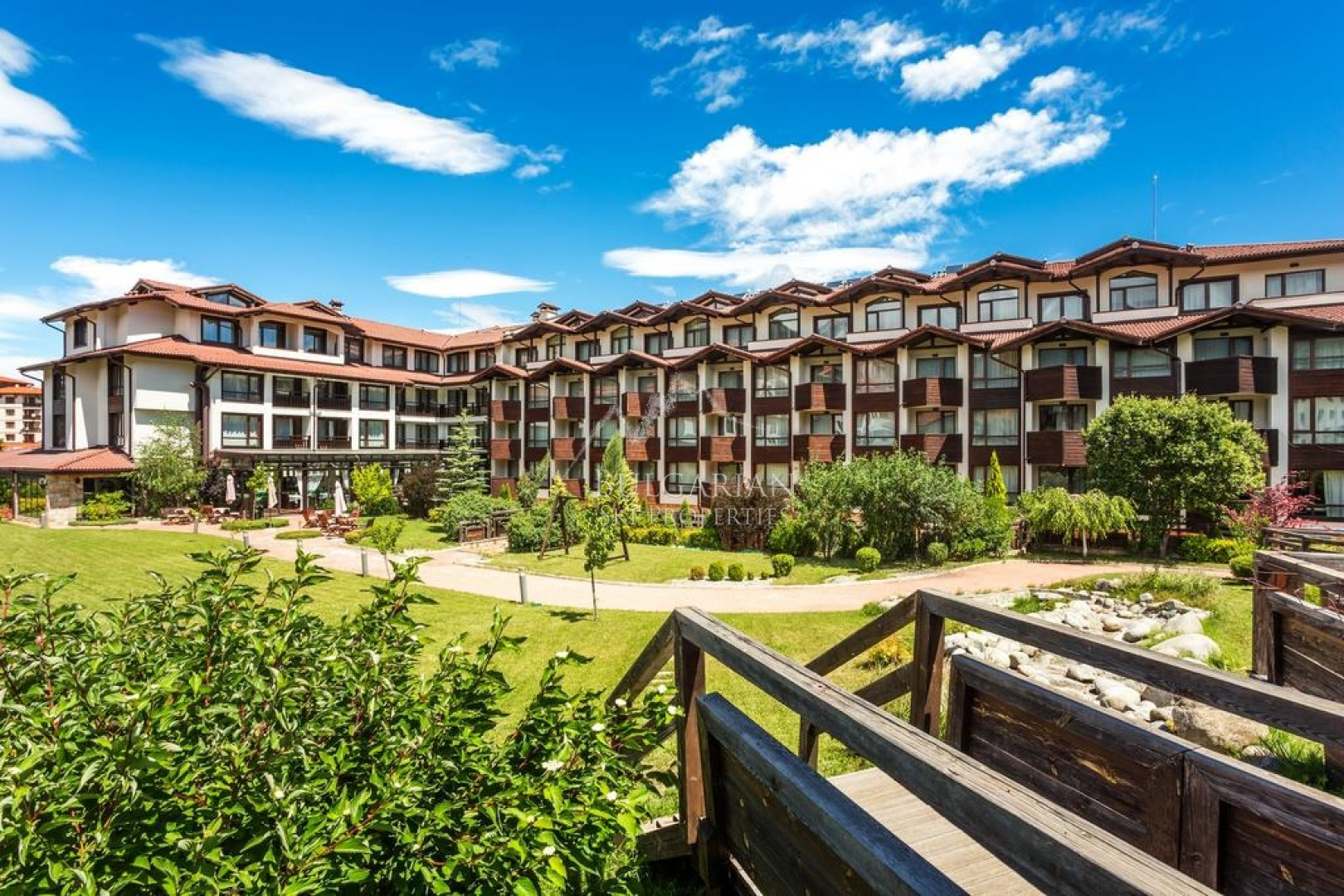 Perun Lodge, Bansko: bargain furnished one-bedroom apartment for sale