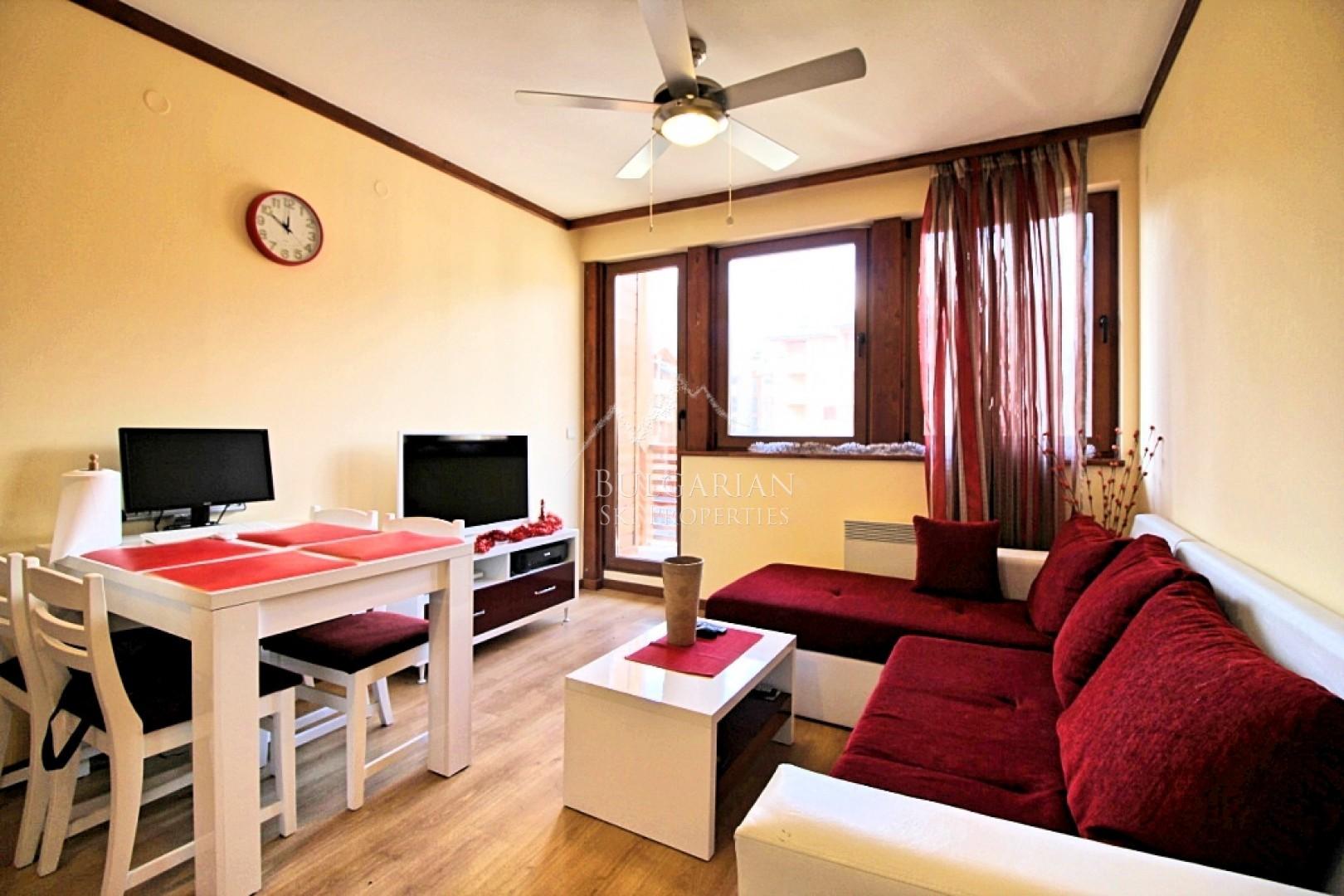 Банско: стильно меблированная двухкомнатная квартира на продажу на Св. Иван Ски & Спа