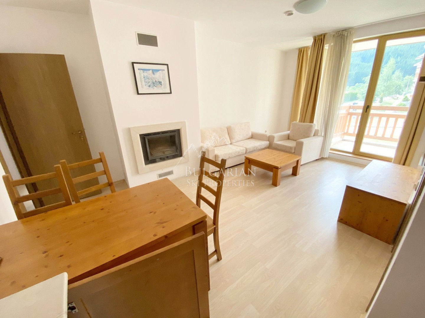 Two-bedroom apartment with two bathrooms for sale in St John Park, Bansko