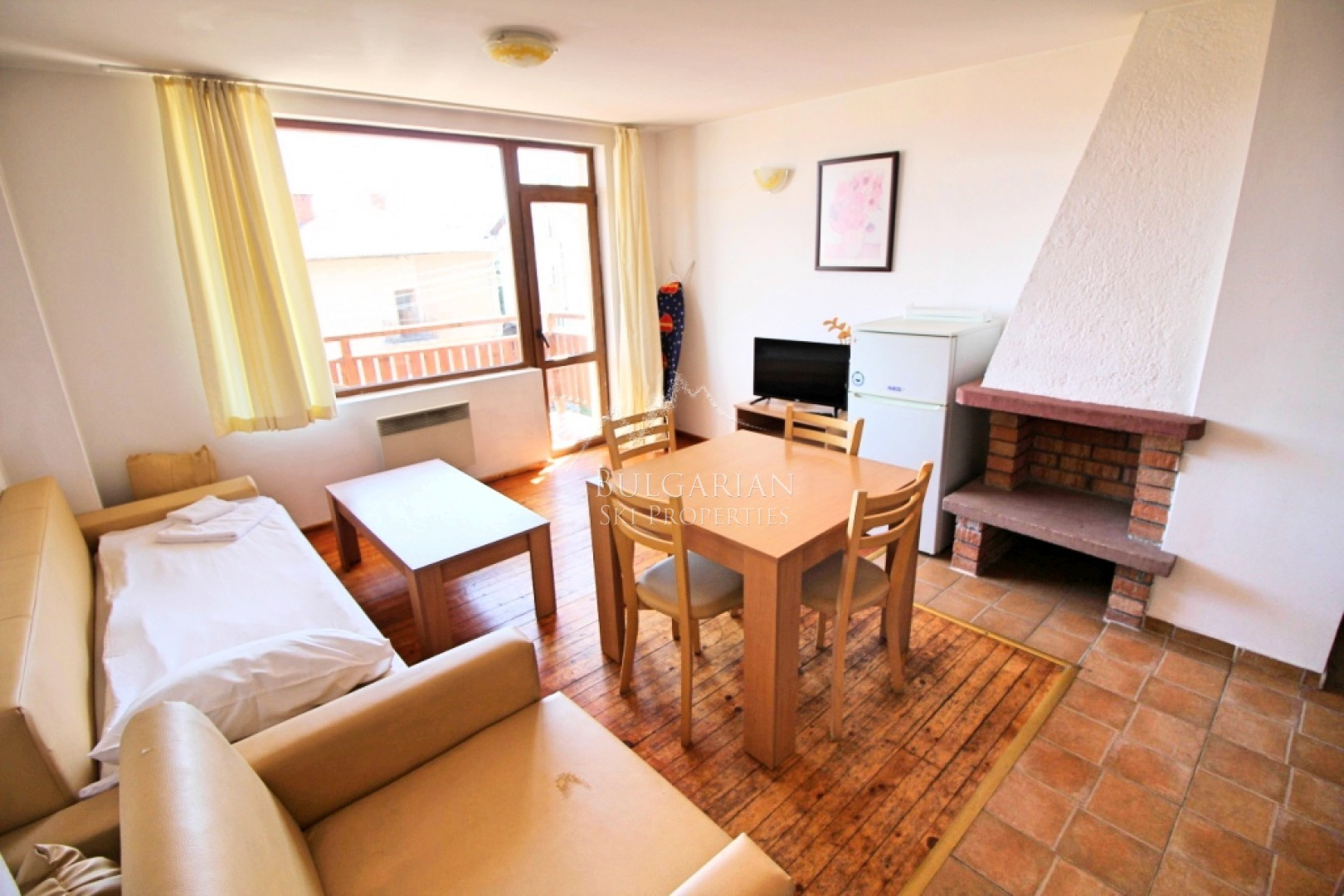 Bansko: bargain one-bedroom apartment for sale