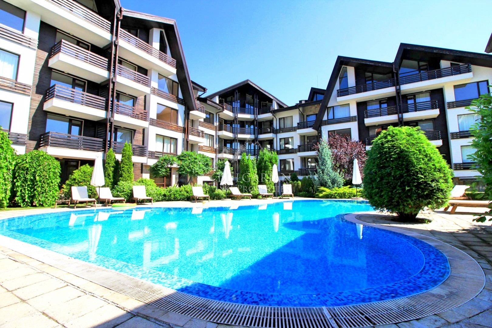 Bansko, Aspen Suites: furnished studio for sale