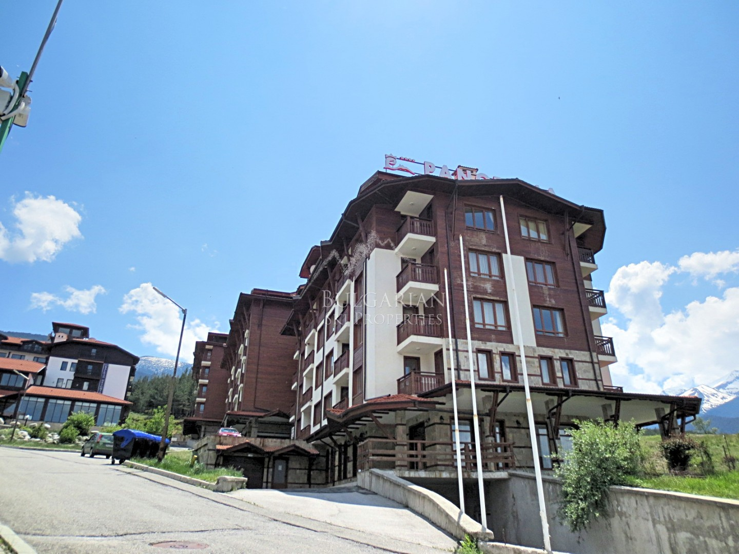 Bansko: furnished one-bedroom apartment in Panorama Resort for sale