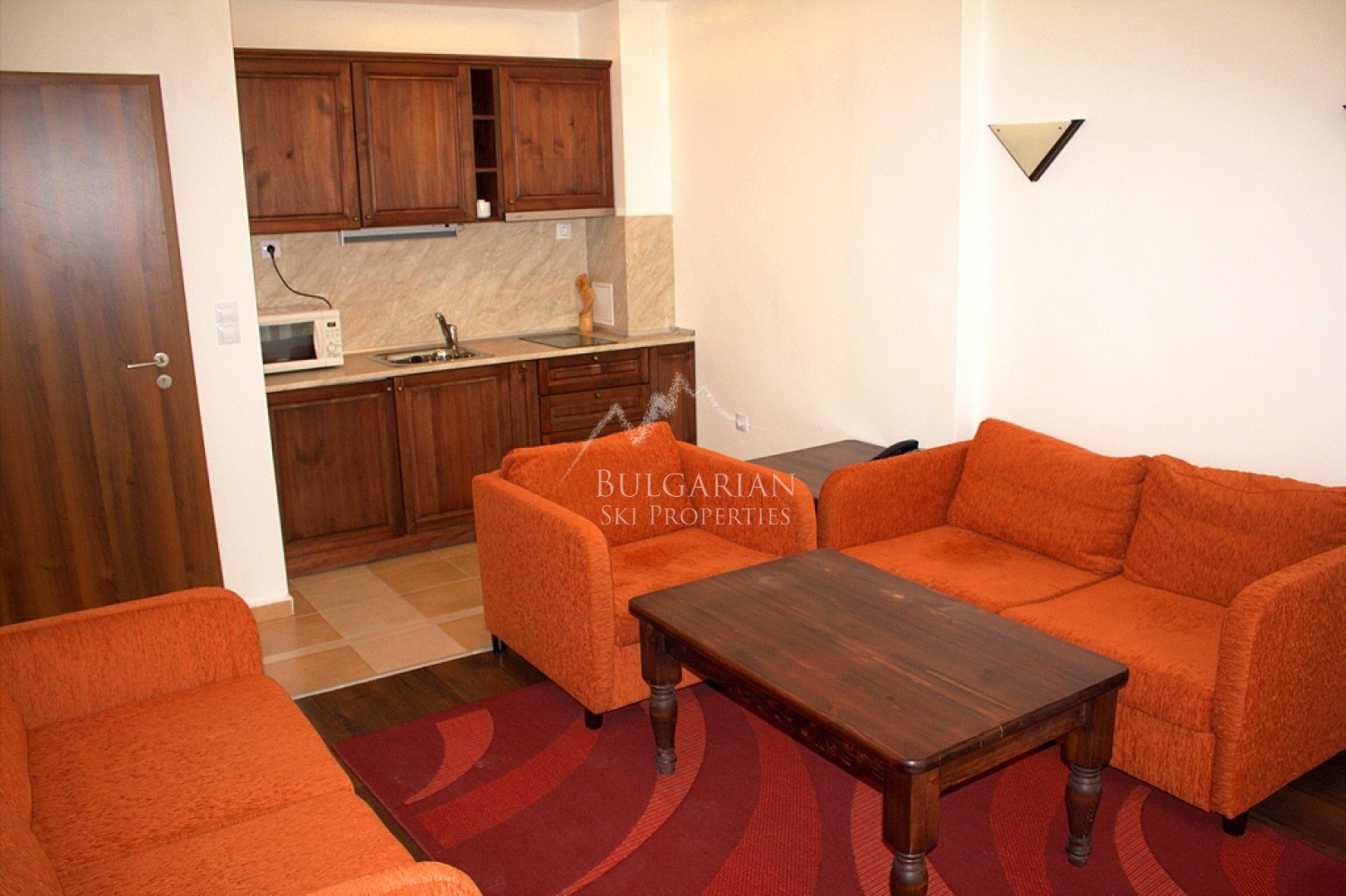 Furnished two-bedroom apartment for sale in Winslow Infinity & Spa, Bansko