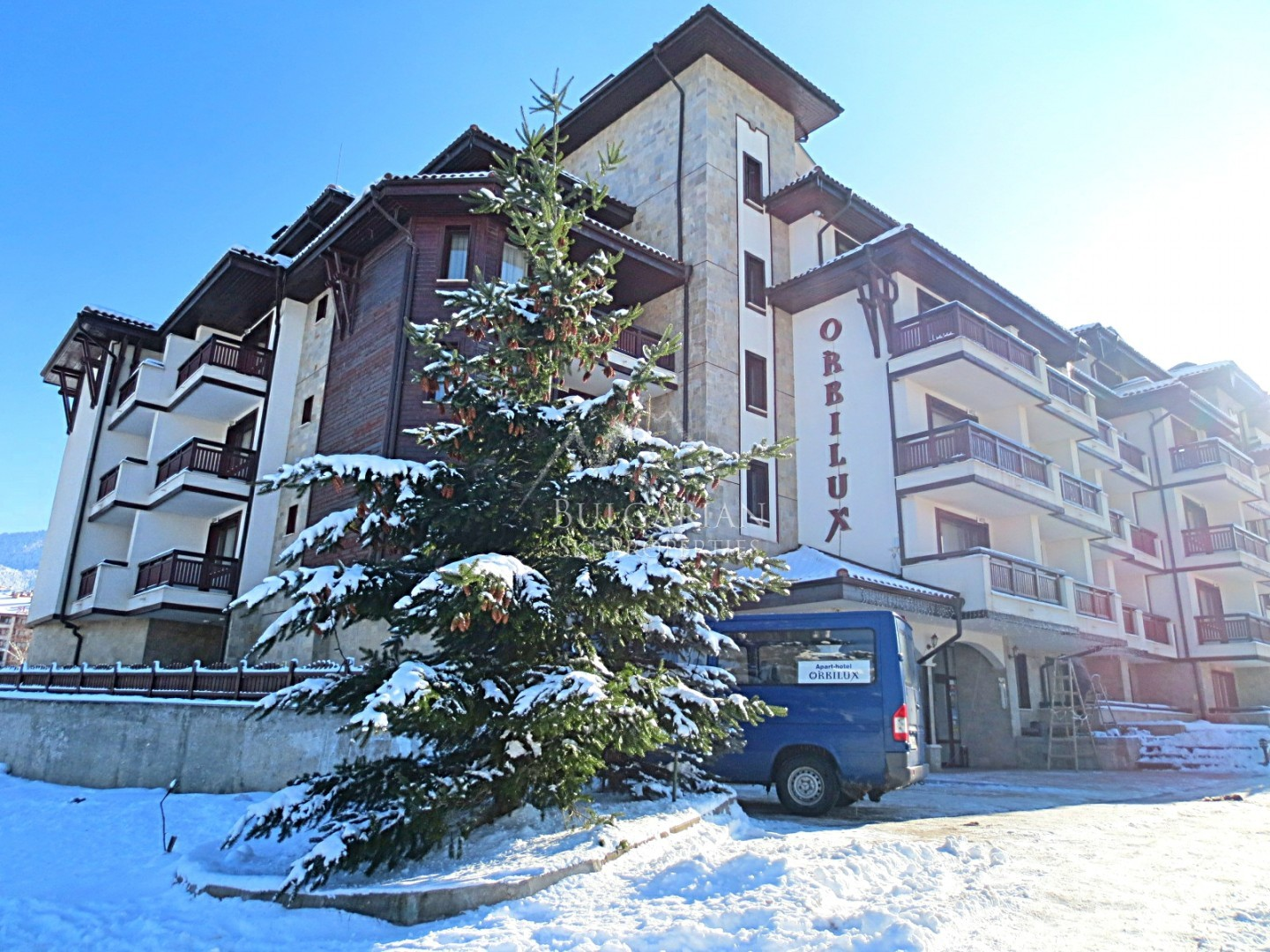 Bansko: furnished one bedroom apartment for sale in Orbilux complex