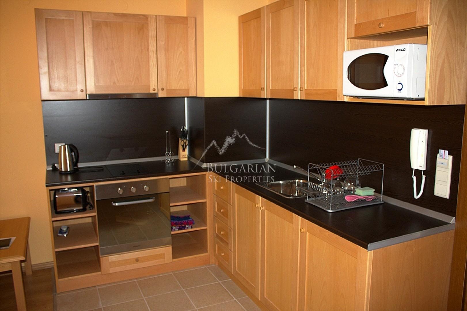 Bansko: furnished one-bedroom apartment for sale in St Ivan Ski & Spa