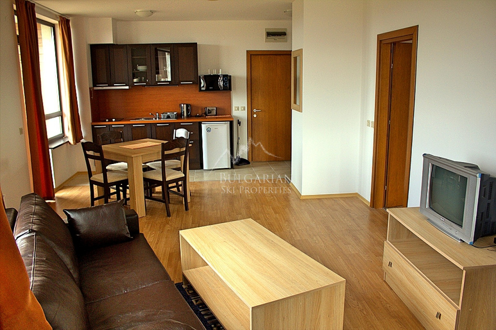 Aspen Valley: furnished one-bedroom apartment for sale on bargain price