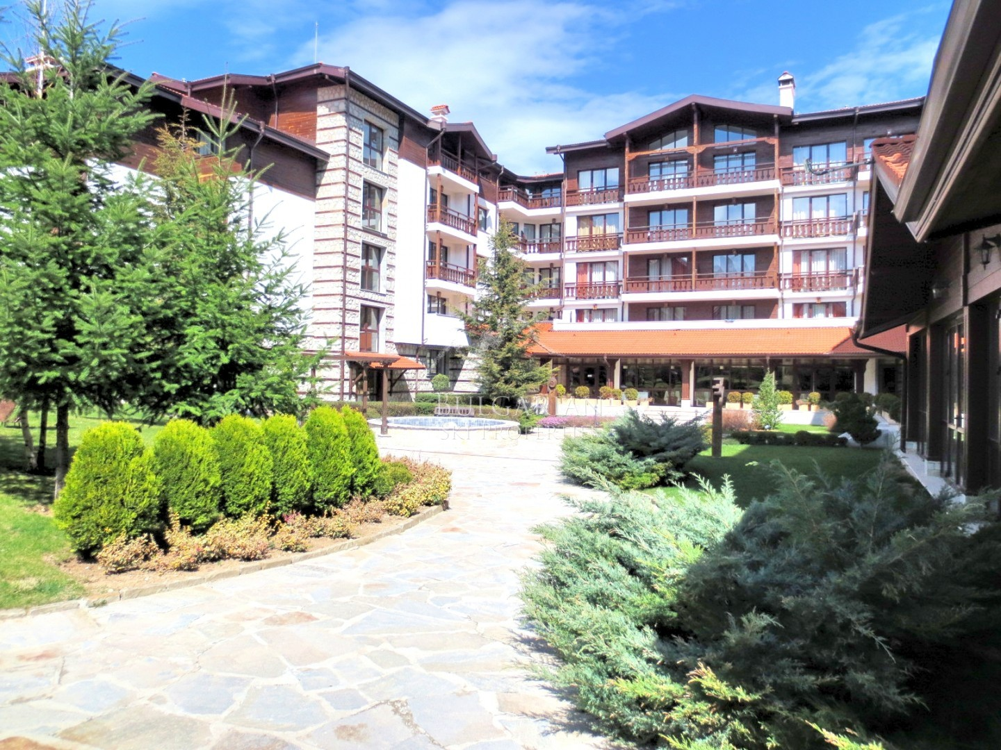 Bansko, Winslow Infinity: furnished studio for sale