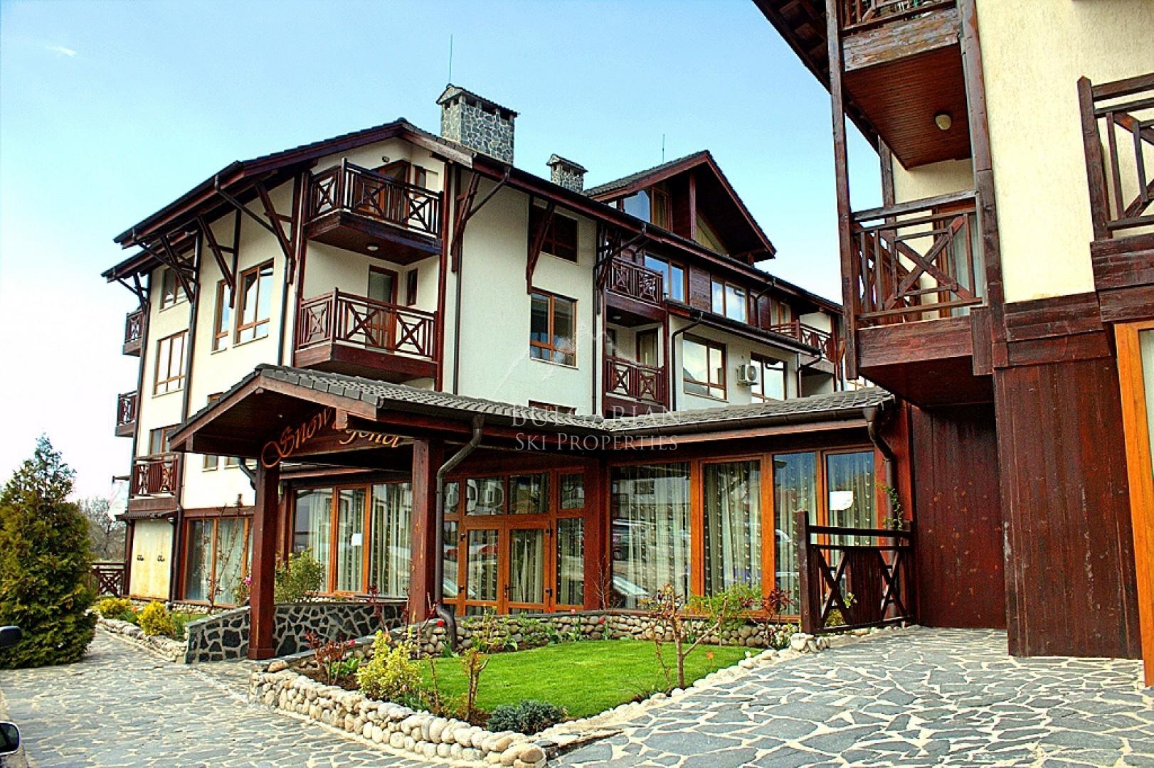 Снежна Легенда, Банско: уютен двустаен апартамент за продажба