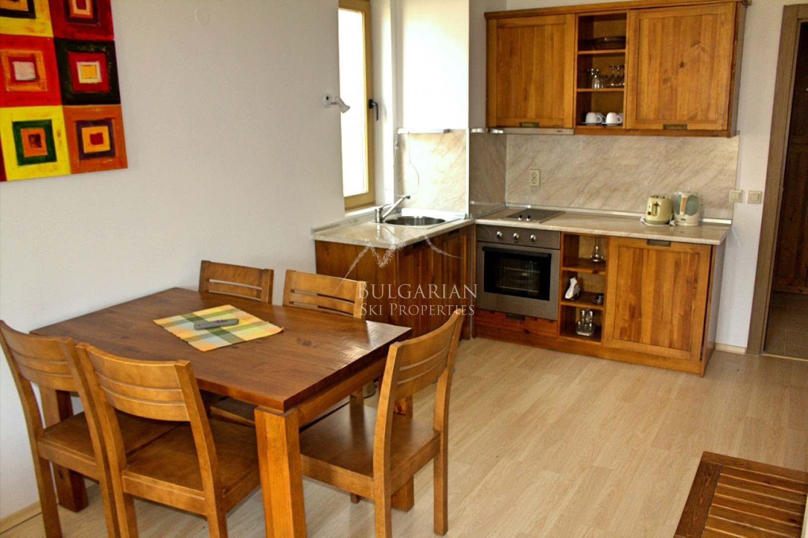Bansko, St. John Hill: Specious two bedroom apartment with mountain views for sale
