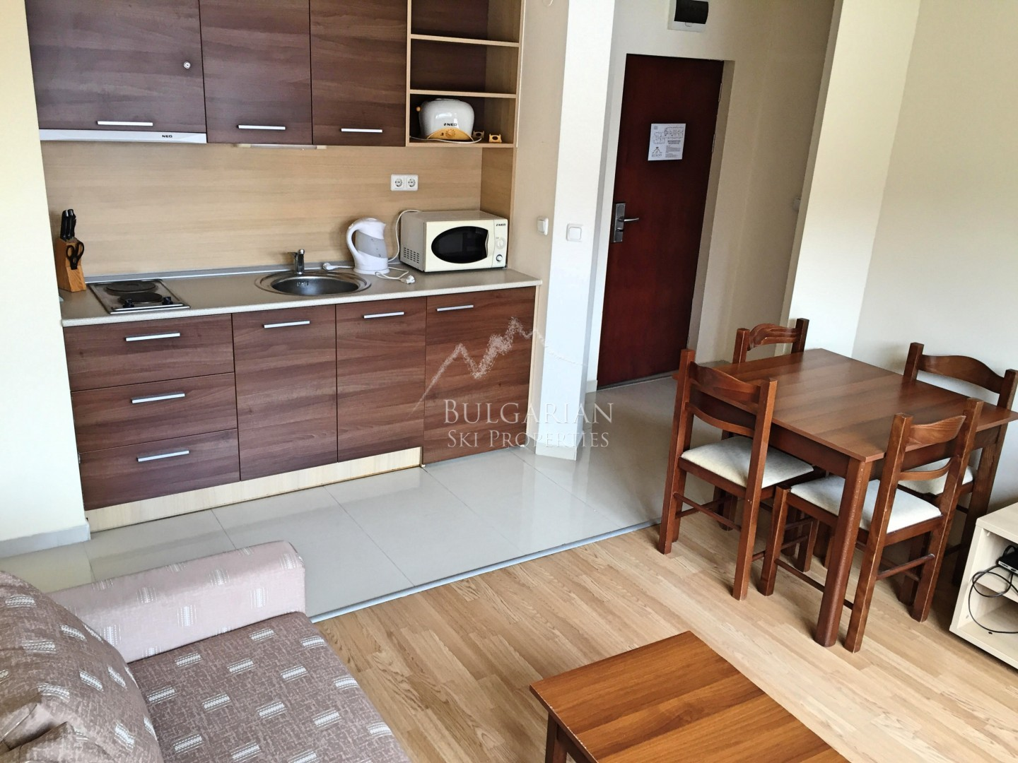 Bansko, Belmont: furnished one-bedroom apartment for sale